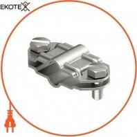 Разделительный зажим для круглых проводников d 8-10 мм и плоских проводников FL 30 мм из нержавеющей стали OBO Bettermann