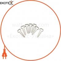 Дюбель - елка (зажим) 8 mm для плоск.каб (100 шт) ELCOR