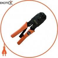 Инструмент e.tool.crimp.hs.2008.r для обжима 4-х, 6-и и 8-и PIN коннекторов