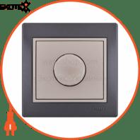 Диммер 500 Вт с фильтром 701-2930-116 Цвет Темно-серый/Жемчужно-белый металлик 10АХ 250V~