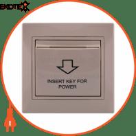 Энергосавер (карточного типа с логотипом) 701-0303-119 Цвет Крем / Крем Задержка