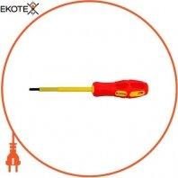 Отвертка изолированная e.tool.st.505 (5.5*125) шлиц