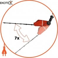 Einhell 3410825 кусторез телескопичний аккумуляторный ge-hh 18 li t kit