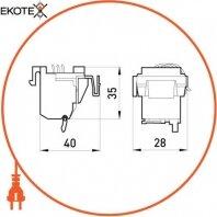 Enext i0030003 дополнительный контакт e.industrial.ukm.250.f