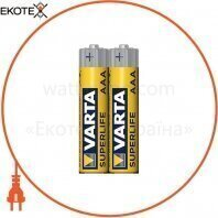 Батарейка VARTA SUPERLIFE AAA FOL 2 шт