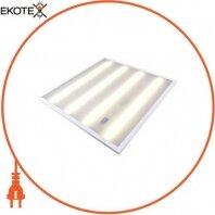 Світильник світлодіодний з опаловим розсіювачем e.LED Surface 600 Opal, 36Вт, 4500K, 3000Лм, IP20, 595х595х19мм