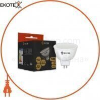 Светодиодная LED лампа ELCOR 534327 MR16 5Вт GU5.3 350Лм 4200K ELCOR