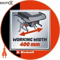 Einhell 3431040 культиватор електричний gc-rt 1440 m