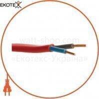 Кабель ВВГ-П нгд 2х1,5 красный ELCOR