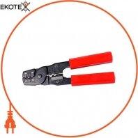 Инструмент e.tool.crimp.hs.202.b.0,35.5,5 для обжима изолированных или неизолированных наконечников 0,35-5,5 кв. мм