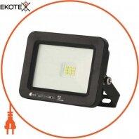 Прожектор SMD LED 10W 6400K 800Lm 175-250V IP65 черный