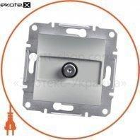 Asfora -SAT connector (1dB) ending, wo frame, алюминиевый