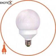 Лампа энергосберегающая e.save.globe.E14.8.4200.t2, тип globe, патрон Е14, 8W, 4200 К, колба T2
