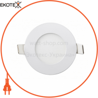 Встраемая Круглая LED Панель 464-RRP-03 Цвет 6400K 3W - O85mm / O72mm - 240lmВбудована Кругла LED Панель 464-RRP-03 Колір 6400K 3W - O85mm / O72mm - 240lm