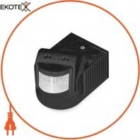 Датчик движения Feron LX118B/SEN8 черный