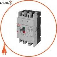 Силовой автоматический выключатель e.industrial.ukm.100S.160, 3р, 160А