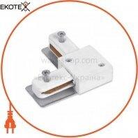 Коннектор угловой LD1005 белый