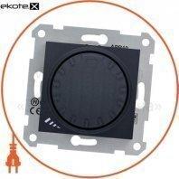 Sedna Светорегулятор поворотно-нажимной, без рамки 1000VA графит