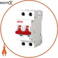 Модульний автоматичний вимикач e.industrial.mcb.100.1 N. C63, 1р+N, 63А, З, 10кА