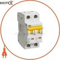 Автоматический выключатель ВА47-60 2Р 25А 6кА B IEK