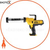 Пистолет для герметиков акумуляторный DeWALT DCE571N