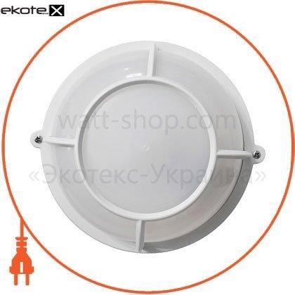 Ecostrum 71998 светильникнпп-65 коло белый опал.с решеткой пп-1051-07-2/6