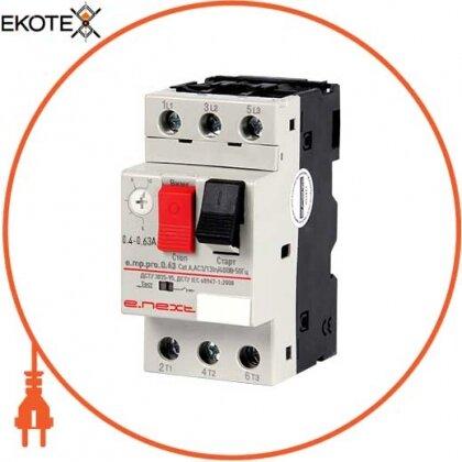 Enext p004016 автоматический выключатель защиты двигателя e.mp.pro.0.63, 0,4-0,63а