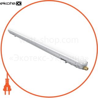 светильник светодиодный пылевлагозащищенный ір65 18вт 6000k  1400lm 600mm (pc+abs) светодиодные светильники lezard Lezard LZLEDIP6518