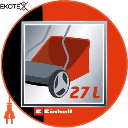 Einhell 3414127 газонокосилка ручная gc-hm 40