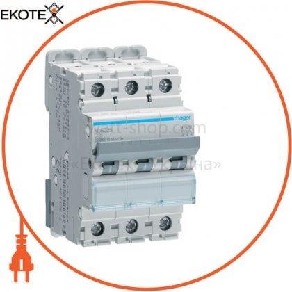 Hager NDN325 автоматический выключатель 3p 10ka d-25a 3m