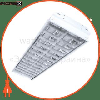 растровый встраиваемый 2*36 светильники вариант Вариант ЛПБ-2х36 ЛЭД
