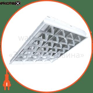 растровый встраиваемый 4*18 светильники вариант Вариант ЛПБ-4х18 ЛЭД