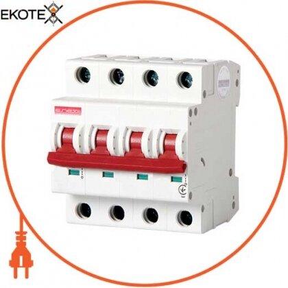 Enext i0190010 модульный автоматический выключатель e.industrial.mcb.100.3n.c6, 3р+n, 6а, с, 10ка