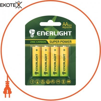Enerlight 80060104 батарейка enerlight super power aa bli 4