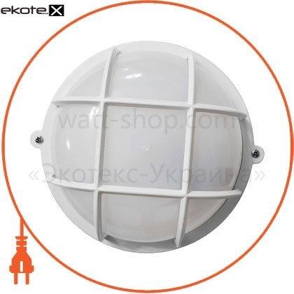 Ecostrum 71995 светильникнпп-65 круг белый опал.с решеткой пп-1051-07-1/6