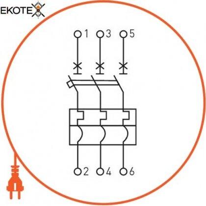 Enext i0660002 силовой автоматический выключатель e.industrial.ukm.100sl.100, 3р, 100а