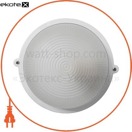 Ecostrum 71991 светильник нпп-65 круг белый опал пс-1001-11-0/1
