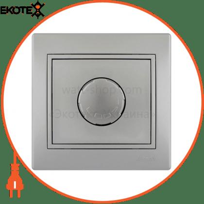 Lezard 701-1010-115 диммер 800 вт 701-1010-115 цвет серый металлик 10ах 250v~