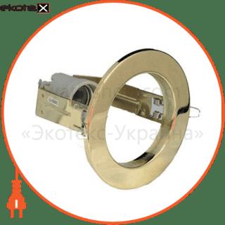 точечный под лампу r80 позолоченный светильники вариант Вариант Светильник точечный R-80 золото