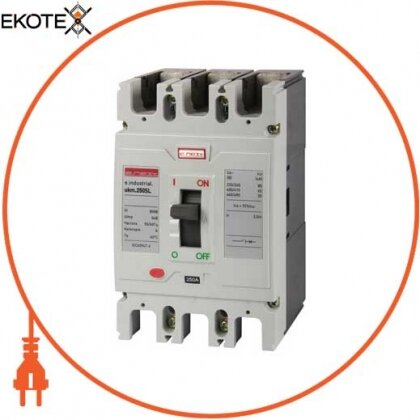 Enext i0660018 силовой автоматический выключатель e.industrial.ukm.250sl.225, 3р, 225а