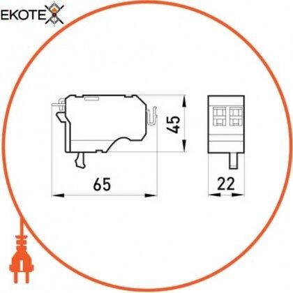 Enext i0070003 независимый расцепитель e.industrial.ukm.400-800.fl.220, 220в