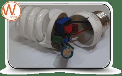 Инструкция. Ремонт энергосберегающих ламп